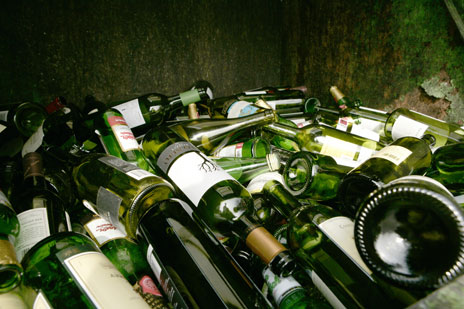 Glass recycling Worcestershire, West Midlands & Birmingham