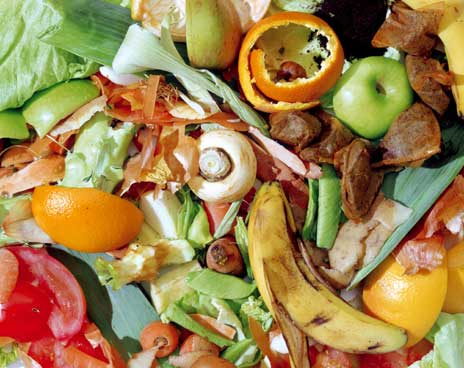 Food recycling Worcestershire, West Midlands & Birmingham